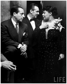 Songbird Ella Fitzgerald, at Bop City on opening night NYC 1949 Martha Holmes #music