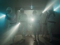 The Department of Energy watched 'Stranger Things' on Netflix, and it wants you to know these 5 things - Page 3 of 6 - Business Insider Shows Like Stranger Things, Watch Stranger Things, Storm The House, Scary Characters, Stranger Things Halloween, Hazmat Suit, National Laboratory, Christmas Light Bulbs, Halloween Themes