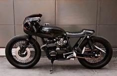 Honda CB550 Cafe Racer von ZDR Custom #bike #custom #motorcycle #moto #honda #cb550 #caferacer