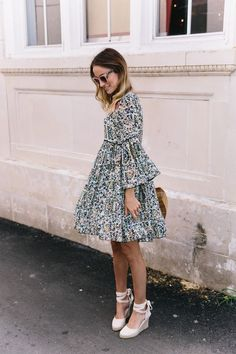 Petite Fashion Tips .Petite Fashion Tips Modest Dresses, Cute Dresses, Casual Dresses, Modest Outfits, Summer Dresses, Spring Outfits, Trendy Outfits, Fashion Outfits, Look Fashion