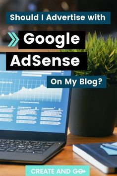 If you've done any research at all, you've probably heard that ads are the best way to get started earning some money from your new blog. Depending on your goals, blog content, and how long you've been blogging, AdSense may or may not be the right choice for you. We want to give you a little more information to help you determine whether using Google's popular ad platform on your blog is the right next step for you. #createandgo #googleadsense #blog Make Money Blogging, How To Make Money, Earn Money, Popular Ads, Creating A Blog, How To Start A Blog, Content Marketing, About Me Blog, Advertising