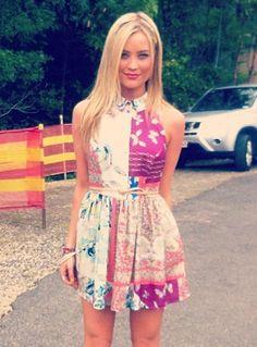 Love this dress!!  Laura Whitmore - I'm a Celeb!
