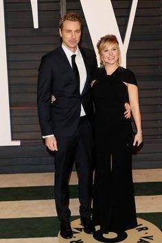 Bell se na večírek dostavila i s manželem Daxem Shepardem.