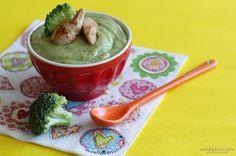 Petit pot au poulet, brocolis et lait de coco