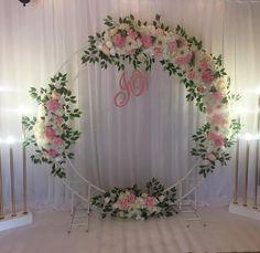 circle wedding arch, flower decoration wedding, wedding decor with fresh flowers, flowers for wedding decor, wedding decorations