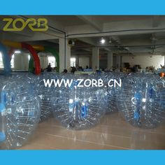 Body zorbing and Zorb Ball for Sale, Inflatable Water Roller: Zorbing Ball- Unique Sporting Equipment for All Ag...