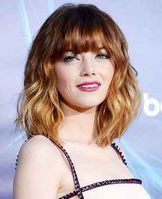Dip-Dyed: The Best Ombre Styles - Emma Stone from InStyle.com