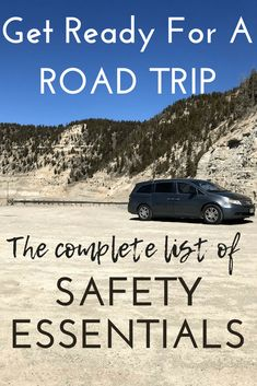 A complete checklist of all the essentials for packing and planning a safe and successful road trip. Road Trip With Kids, Family Road Trips, Travel With Kids, Family Travel, Family Vacations, Travel Tips, Travel Packing, Packing Tips, Travel Hacks