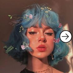 ✔️ 10 Style Inpiration of Egirl Makeup that are trending in the internet - Orlando Solution Hairstyles With Bangs, Pretty Hairstyles, Girl Hairstyles, Cute Makeup, Makeup Looks, Hair Makeup, Doll Makeup, Makeup Style, Makeup Eyes