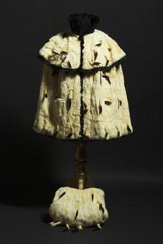 Ermine cape with matching muff belonging to Empress Sissi of Austria. Empress Sissi, Austrian Empire, Princess Elizabeth, Elisabeth, Her World, Museum, Antique Clothing, Royal Fashion, My King