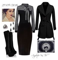 """Office Outfit"" by angelique-von-tod ❤ liked on Polyvore featuring River Island and Belk & Co."