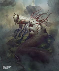 Sludge Crawler - Battle for Zendikar MtG Art