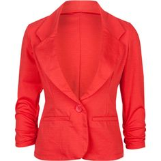 ASHLEY One Button Womens Blazer 205450730 | Jackets | Tillys.com I want a black Jacket and I can't decide which is the best one. But then trying to actually find the RIGHT one in our shops is near impossible.