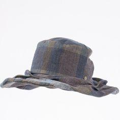 Wrinkled brim wire hat www.omae.co/ko/shop/brownhat