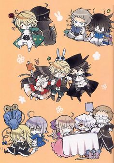 Pandora hearts! it looks cute now but it will rip out your soul and hurt you