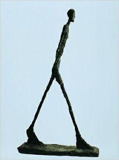 Man Striding - Alberto Giacometti