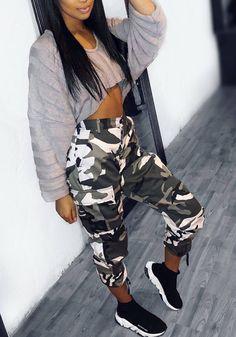 50 Ideas De Pantalones Cargo Mujer En 2021 Pantalones Cargo Mujer Moda De Ropa Ropa Tumblr