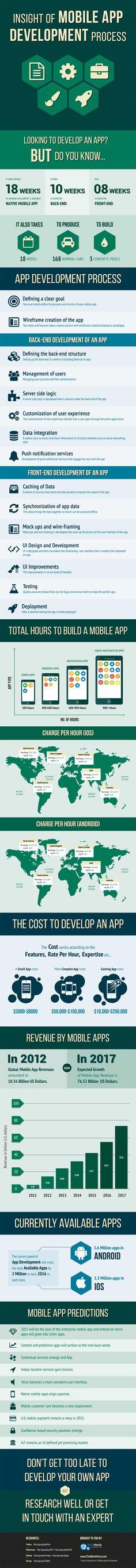 Infografik: Kosten und Erträge Mobiler Apps