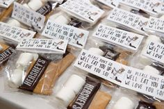 S'mores favors at a Where the Wild Things Are birthday party! See more party ideas at CatchMyParty.com!