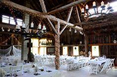Wedding reception at Alchemy Fields in Baileys Harbor, WI (Door County)