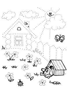 Line worksheets. Tracing Worksheets, Kindergarten Worksheets, Worksheets For Kids, Motor Activities, Educational Activities, Preschool Activities, Drawing For Kids, Art For Kids, Pre Writing