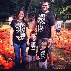 Expecting family + Halloween