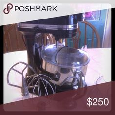 Kitchenaid Professional Mixer Kitchenaid professional mixer. Used very little. Great shape and super clean. Comes with some attachments. Kitchenaid Other
