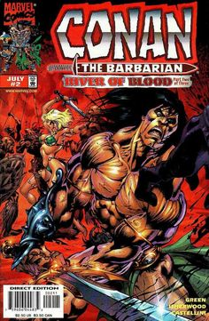 Conan: River of Blood #2 - Conan and the River of Blood Part II (Issue)