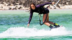 Julia Castro by adoscool.com fan.  Make sure to check out http://www.talic.com for the best kiteboarding storage rack