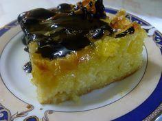 MARI PLATEAU: Αφράτη πορτοκαλόπιτα Greek Desserts, Greek Recipes, French Toast, Deserts, Sweet Home, Pudding, Pie, Sweets, Cooking