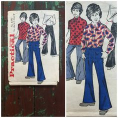 Vintage Pattern 1970's Sewing Pattern by VintageGreenClothing
