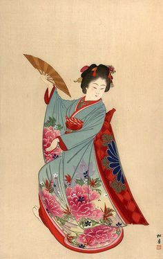 Yukawa Shoudou (1868-?), from the series One Hundred Beauties Depicting Modern and Ancient Manners,1903