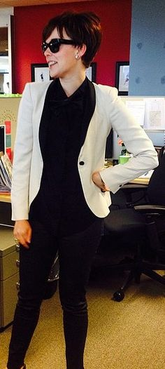 A Karl Lagerfeld-Approved Kris Jenner Halloween costume