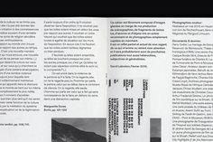 David Lebreton, Cahier Libre #01 / Julien Lelièvre