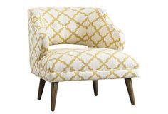 Great for a little seating/reading area.  #onekingslane  #designisneverdone