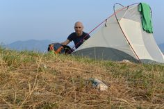 Sleeping on the summit: a trial before leaving to Alaska