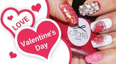 DIY Valentine's Day Nail Art Design! To be in love - Nail Art Tutorial to Paint your Nails at Home!