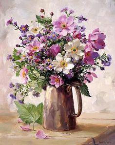 Summer Wild Flowers - greeting