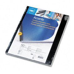 Binding Machine Accents Polypropylene Covers