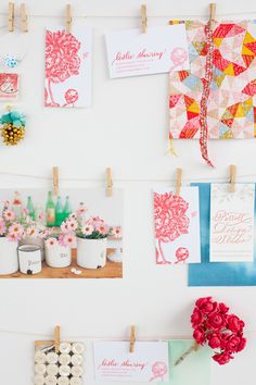 Gorgeous inspiration wall