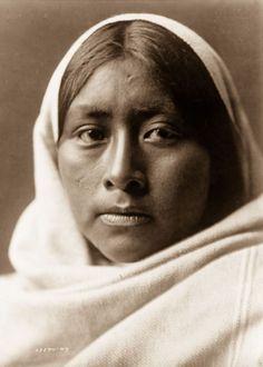 A Papago Woman, 1907