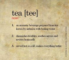 Words about Tea