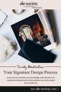 interior design process, interior design business, interior decorating business, signature design process