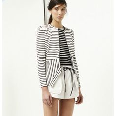 Bec & Bridge Elements Jacket White Stripe | STYLE MILK SHOP-Bec & Bridge, Maurie & Eve, Shakuhachi & Talulah