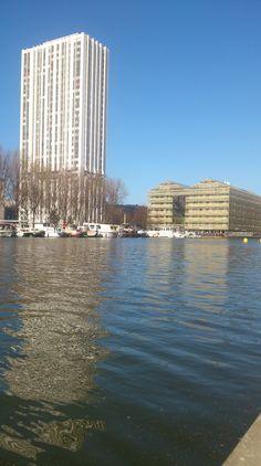 Paris - Canal de l'Ourcq