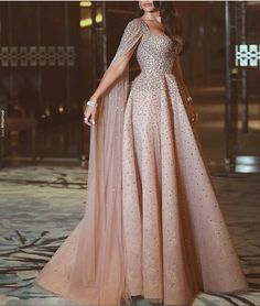Lovely styled gown!