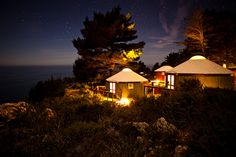 Treebones Resort in Big Sur, CA. #yurt #camping