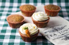 Objetivo: Cupcake Perfecto.: Porque si a mis padres les gustaron, a vosotr@s os gustarán más: Carrot Cake Cupcakes