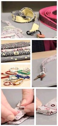 How to make an easy-sew lanyard  :) #sew