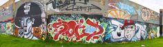 Grafittis en la Av Suba  Fotos: Mauricio Leon